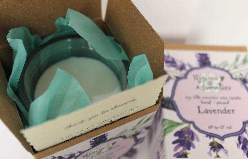 Virginia Aromatics Candle Lavender top