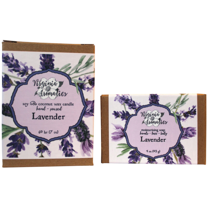 Virginia Aromatics Lavender Candle and Soap