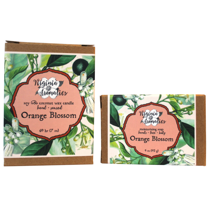 Virginia Aromatics Orange Blossom Candle and Soap
