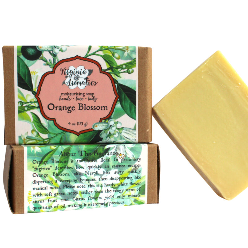 Virginia Aromatics Soap Bar Orange Blossom