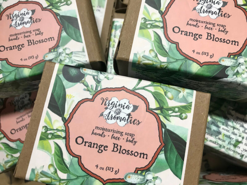 Virginia Aromatics Orange Blossom Soap