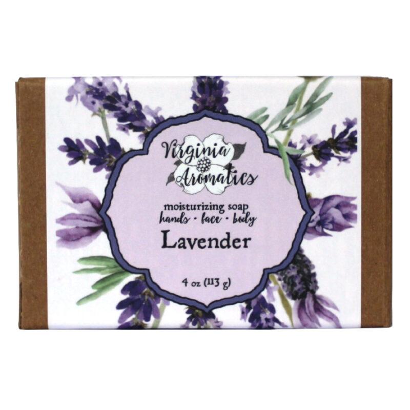 Virginia Aromatics Soap Bar Lavender front
