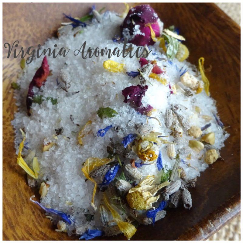 Virginia Aromatics Bath Salt Soak Herbal Bliss