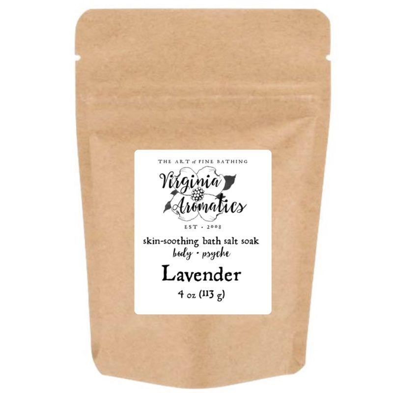 Virginia Aromatics Bath Salt Soak Lavender size small