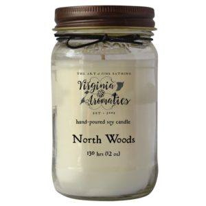 Virginia Aromatics Farmhouse Mason Jar Candle North Woods