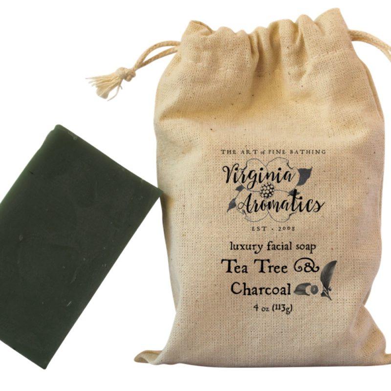 Virginia Aromatics Tea Tree & Charcoal Soap