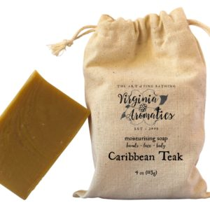 Virginia Aromatics Farmhouse Soap Caribbean Teak