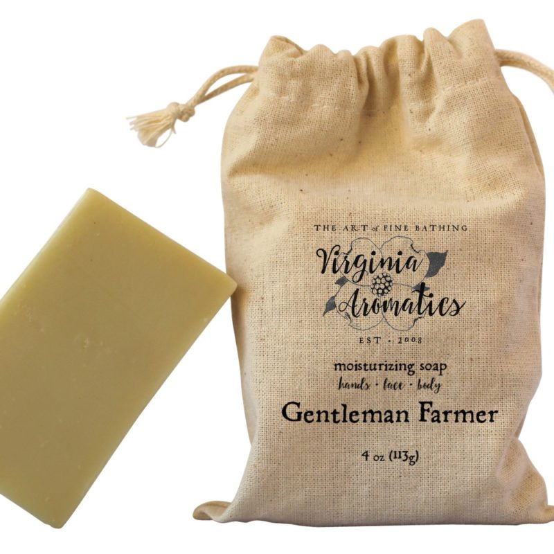 Virginia Aromatics Farmhouse Soap Gentleman Farmer