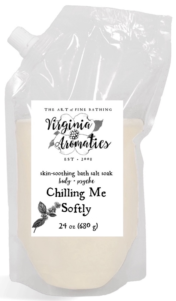 Virginia Aromatics bath salt soak large chilling