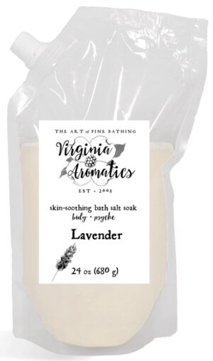 Virginia Aromatics bath salt soak large lavender